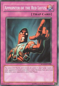 YuGiOh! TCG karta: Appointer of the Red Lotus