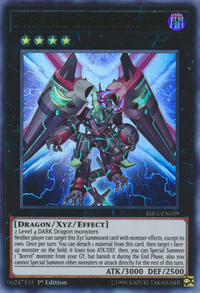 YuGiOh! TCG karta: Borreload eXcharge Dragon