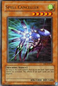 YuGiOh! TCG karta: Spell Canceller