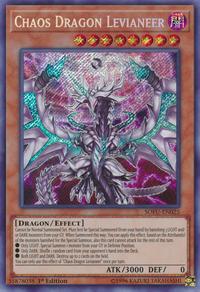 YuGiOh! TCG karta: Chaos Dragon Levianeer