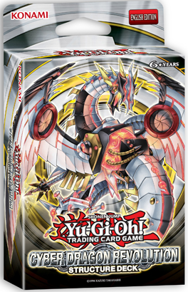 Yu-Gi-Oh TCG Unlimited Edition Cyber Dragon Revolution Structure Deck SDCR