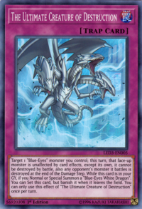 YuGiOh! TCG karta: The Ultimate Creature of Destruction