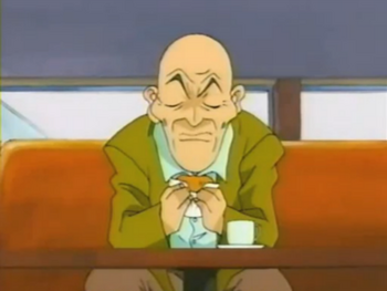 Old Man Dentures