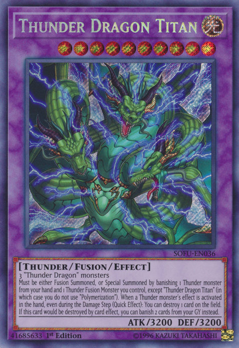 Image result for thunder dragon yu gi oh