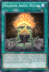 YuGiOh! TCG karta: Machine Angel Ritual