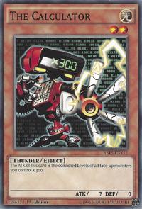 YuGiOh! TCG karta: The Calculator