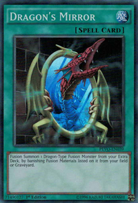YuGiOh! TCG karta: Dragons Mirror
