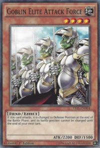 YuGiOh! TCG karta: Goblin Elite Attack Force