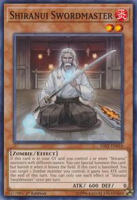 YuGiOh! TCG karta: Shiranui Swordmaster