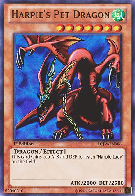 Yugioh Harpie Lady Harpie's Pet Dragon | ...