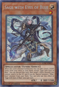 YuGiOh! TCG karta: Sage with Eyes of Blue