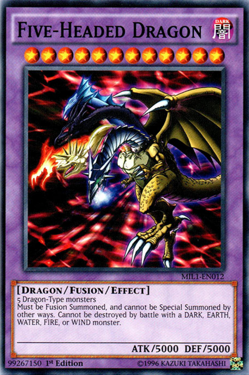 Five Headed Dragon Baza Kart Yu Gi Oh Yugioh Pl