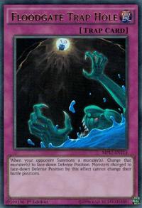 YuGiOh! TCG karta: Floodgate Trap Hole