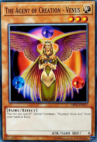 YuGiOh! TCG karta: The Agent of Creation - Venus