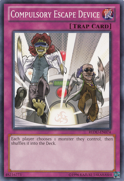 Compulsory Escape Device | Yu-Gi-Oh! | FANDOM powered by Wikia