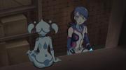 Aqua telling Aoi about Miyu