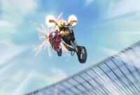 AerialMotorcycleFight