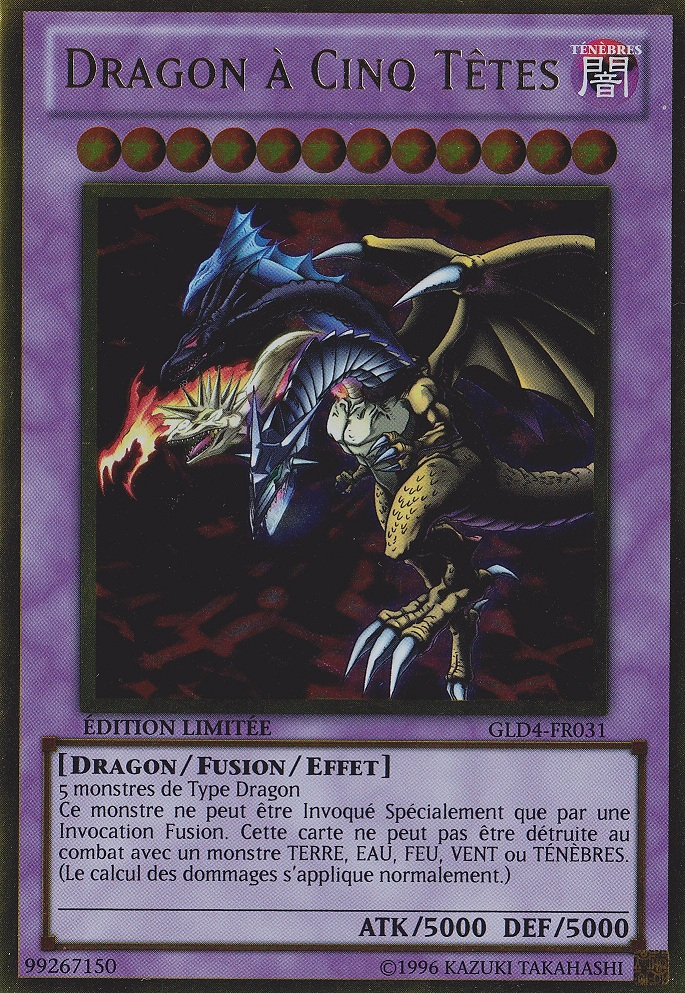 Card Gallery:Five-Headed Dragon | Yu-Gi-Oh! | FANDOM ...
