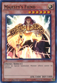 YuGiOh! TCG karta: Majestys Fiend