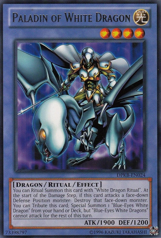 Paladin of White Dragon | Yu-Gi-Oh! | FANDOM powered by Wikia