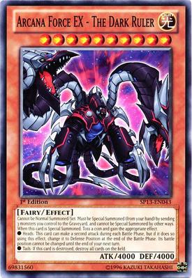 Arcana Force EX The Dark Ruler SP13