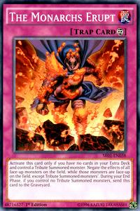 YuGiOh! TCG karta: The Monarchs Erupt