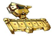 Battle City Alpha Disk - Gold