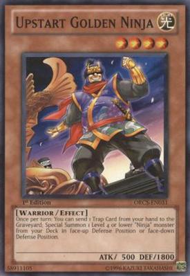Upstart Golden Ninja ORCS