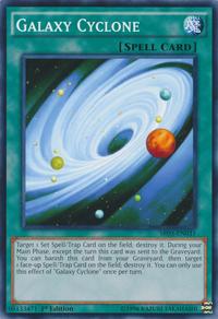 YuGiOh! TCG karta: Galaxy Cyclone