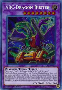 YuGiOh! TCG karta: ABC-Dragon Buster
