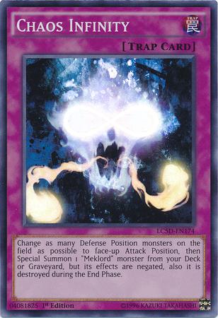 YU-GI-OH Chaos Unendlichkeit Rare EXVC-DE065
