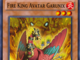 Fire King Avatar Garunix