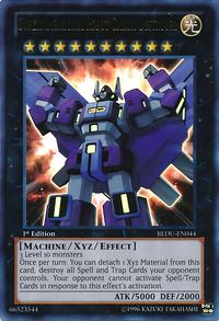 YuGiOh! TCG karta: Superdimensional Robot Galaxy Destroyer