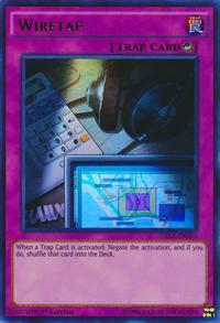 YuGiOh! TCG karta: Wiretap