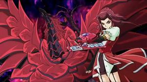 Aki Izayoi and BlackRoseDragon
