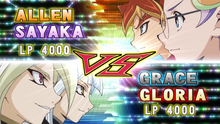Gloria & Grace VS Allen & Sayaka