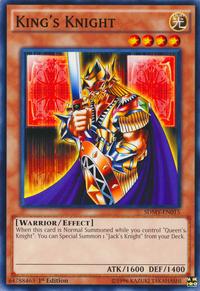 YuGiOh! TCG karta: Kings Knight