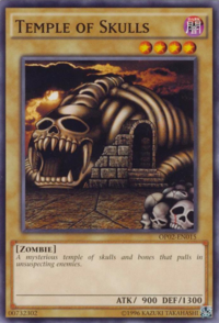 YuGiOh! TCG karta: Temple of Skulls