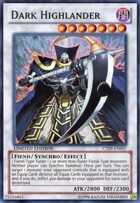 YuGiOh! TCG karta: Dark Highlander