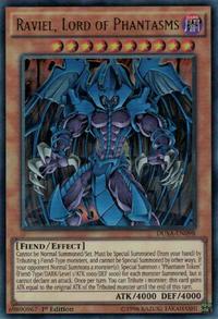 YuGiOh! TCG karta: Raviel, Lord of Phantasms