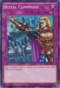 YuGiOh! TCG karta: Royal Command