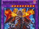Archfiend Black Skull Dragon