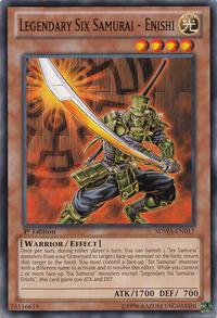YuGiOh! TCG karta: Legendary Six Samurai - Enishi