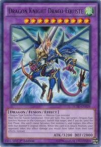 YuGiOh! TCG karta: Dragon Knight Draco-Equiste