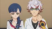 Kiku and Takeru in the future