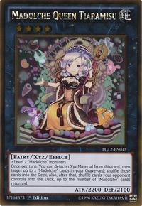YuGiOh! TCG karta: Madolche Queen Tiaramisu