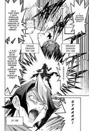 Shun takes huge LP damage