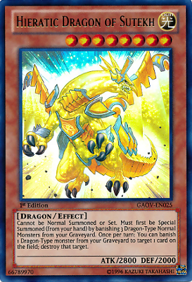 Hieratic Dragon of Sutekh GAOV