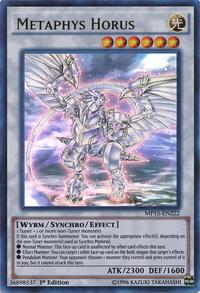 YuGiOh! TCG karta: Metaphys Horus