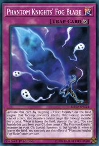 YuGiOh! TCG karta: Phantom Knights Fog Blade